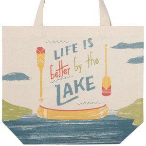 Lake Life Tote Bag NWT
